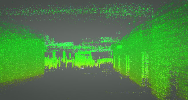 Indoor LiDAR Survey Scans