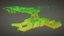 Indoor LiDAR Survey Scanning