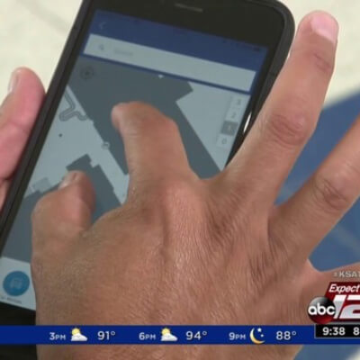 KSAT : TECH SA Local startup hoping to help airport with indoor navigation system