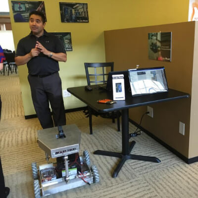 SA robotics startup building tool for easier airport terminal navigation
